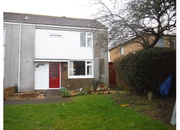 Thumbnail 3 bed end terrace house for sale in Skipper Way, Lee On Solent