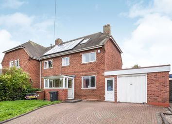 Thumbnail 4 bed semi-detached house for sale in Weston Road, Lichfield
