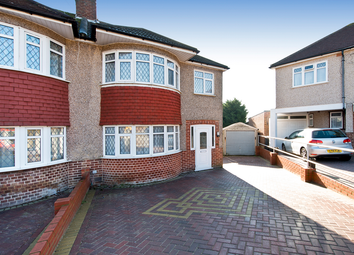 Thumbnail 3 bed semi-detached house for sale in Newlands Close, Wembley
