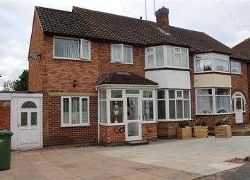 Thumbnail 4 bed semi-detached house for sale in Meriden Drive, Kingshurst, Birmingham