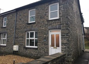 Thumbnail 3 bedroom semi-detached house to rent in Awelfor, Cwmann, Lampeter