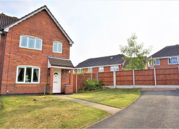 Thumbnail 3 bed semi-detached house for sale in Springwood Farm Road, Midway, Swadlincote