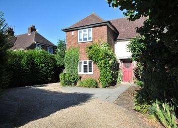 Thumbnail 4 bedroom semi-detached house to rent in Westwood Park Road, Peterborough, Peterborough