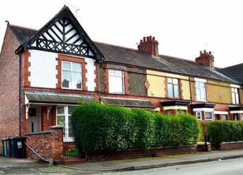 Thumbnail 3 bed terraced house to rent in Richmond Road, Crewe