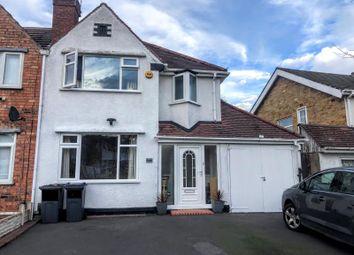 Thumbnail 3 bed semi-detached house for sale in Yardley Wood Road, Yardley Wood, Birmingham