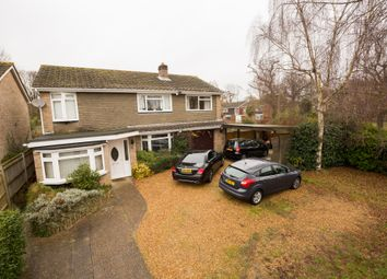 Thumbnail 5 bed detached house for sale in Harlaxton Close, Eastleigh
