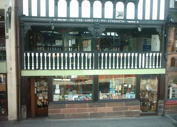 Thumbnail Retail premises for sale in Watergate Street, Chester