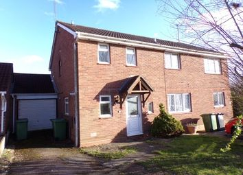 Thumbnail 2 bed property to rent in Tidbury Close, Walkwood, Redditch