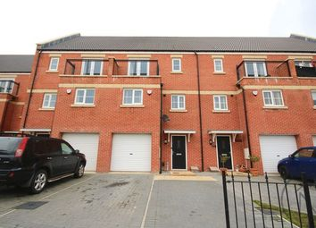 Thumbnail 4 bedroom town house for sale in Greener Drive, Darlington