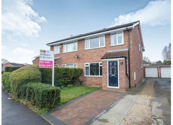 Thumbnail 4 bed semi-detached house for sale in West Nooks, Haxby, York