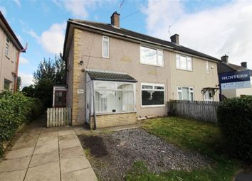 Thumbnail 2 bed semi-detached house for sale in Ganners Road, Bramley, Leeds