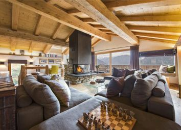 Thumbnail 4 bedroom detached house for sale in Family Chalet, Verbier, Switzerland