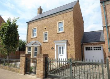 Thumbnail 3 bed detached house for sale in Frogden Road, Swindon