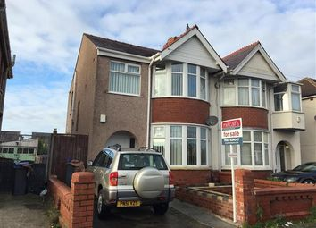 Thumbnail 3 bed semi-detached house for sale in Aylesbury Avenue, Blackpool