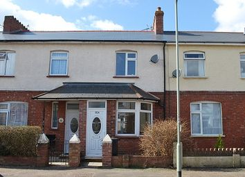 Thumbnail 2 bed terraced house to rent in Salisbury Road, Exmouth