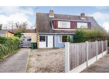 3 bed semi-detached house for sale in Westfield Drive, Coggeshall, Colchester CO6