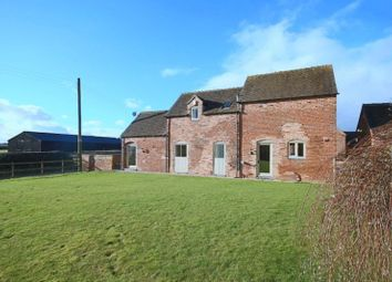 Thumbnail 3 bed barn conversion for sale in Hollies Barn, Hollies Common, Gnosall, Stafford