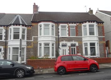 Thumbnail 4 bed terraced house for sale in Court Road, Barry