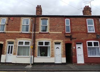 Thumbnail 2 bed terraced house to rent in Carlisle Street, Gainsborough