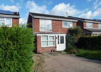 Thumbnail 4 bedroom detached house for sale in The Spinney, Castle Donington, Derby