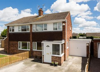 Thumbnail 3 bedroom semi-detached house for sale in Lowfield Drive, Haxby, York
