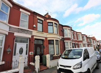 Thumbnail 3 bed terraced house for sale in Alverstone Road, Wallasey
