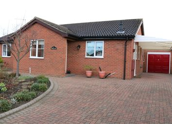 Thumbnail 3 bed detached bungalow for sale in Hawthorn Road, Bourne, Lincolnshire