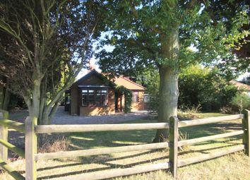 Thumbnail 3 bed detached bungalow for sale in Barsham Road, Fakenham