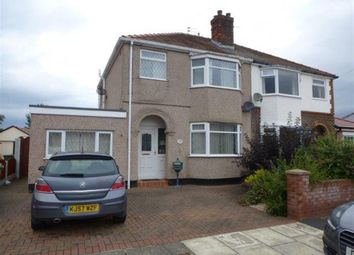 Thumbnail 4 bed semi-detached house for sale in Eleanor Road, Moreton, Wirral