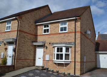 Thumbnail 3 bed semi-detached house for sale in Montague Drive, Greenham, Thatcham