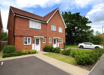 Thumbnail 2 bed semi-detached house for sale in Roman Lane, Southwater, Horsham