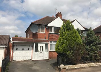 Thumbnail 3 bed semi-detached house to rent in Londonderry Lane, Smethwick
