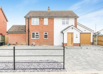 Thumbnail 3 bed detached house for sale in Church Road, Thorrington, Colchester