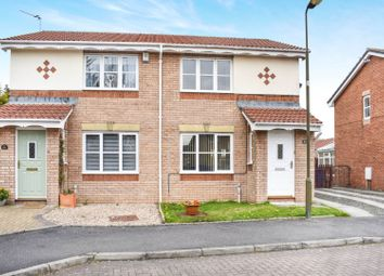 Thumbnail 2 bed semi-detached house for sale in Oldwood Place, Livingston