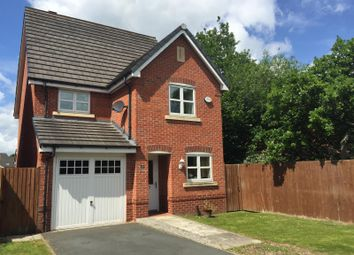 Thumbnail 4 bed detached house to rent in Houston Gardens, Great Sankey, Warrington