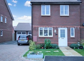 Thumbnail 3 bedroom semi-detached house for sale in Jebb Close, Tadpole Garden Village, Swindon