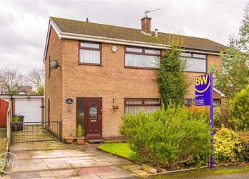 Thumbnail 3 bed semi-detached house for sale in Springclough Drive, Walkden, Manchester
