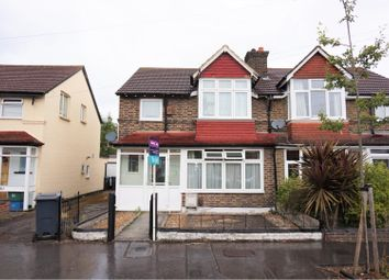 Thumbnail 3 bed semi-detached house to rent in Teevan Road, Croydon