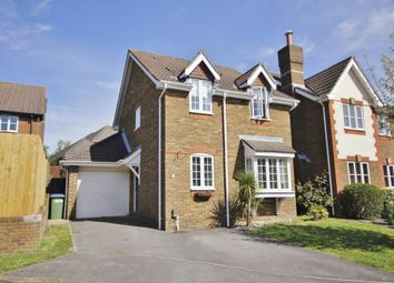 Thumbnail 3 bed detached house for sale in Querida Close, Lower Swanwick, Southampton