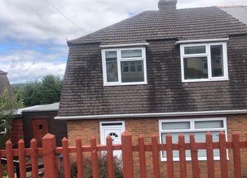 Thumbnail 3 bed semi-detached house for sale in Cripps Avenue, Cefn Golau, Tredegar