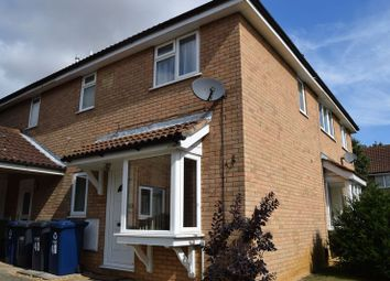 Thumbnail 1 bedroom property to rent in Alder Close, Eaton Ford, St. Neots