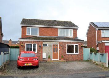 Thumbnail 4 bedroom detached house for sale in Norfolk Road, Borras Park, Wrexham