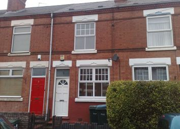 Thumbnail 2 bedroom terraced house to rent in Melbourne Road, Earlsdon, Coventry.