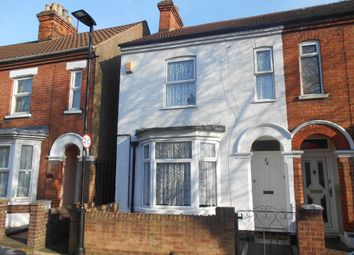 Thumbnail 3 bed end terrace house for sale in Marlborough Road, Bedford, Bedfordshire