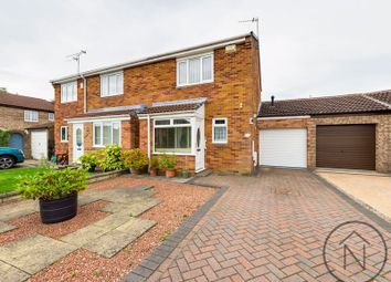 Thumbnail 2 bed semi-detached house for sale in Rushyford Court, Woodham, Newton Aycliffe