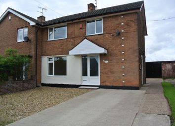 Thumbnail 3 bed semi-detached house to rent in Egmanton Road, Meden Vale, Mansfield