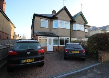 Thumbnail 3 bed semi-detached house for sale in Regents Park Road, Southampton
