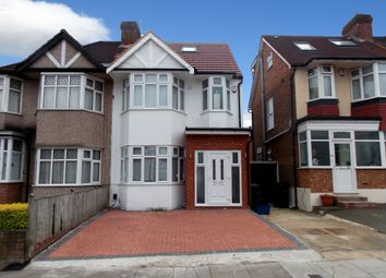 Thumbnail 2 bedroom flat to rent in Woodfield Avenue, London NW9Pp, London