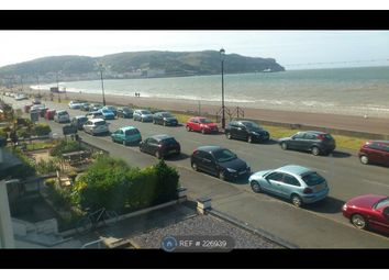 Thumbnail 2 bed flat to rent in Seafront Llandudno, Llandudno