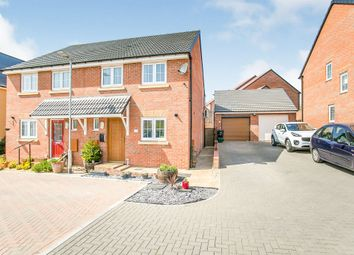 Thumbnail 3 bedroom semi-detached house for sale in Perry Hayes, Cheddon Fitzpaine, Taunton